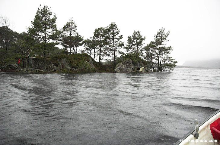 Storholmen i Storavatnet